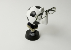 Soccer Piggy Bank Eye Glass Holder Blue 85092400118-2